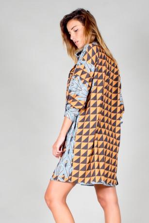 "SHIRT DRESS ""TEKKY 5800"""