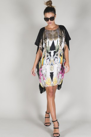 EXCLUSIVE MAXI DRESS - FLORAL