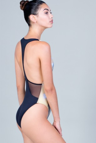 BODYSUIT TRANSPARENT Y - TAJIAMA