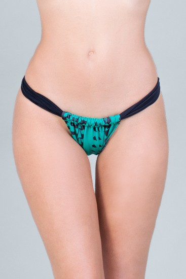 BIKINI BOTTOM BRAZILLIAN - DAZZLE GREEN
